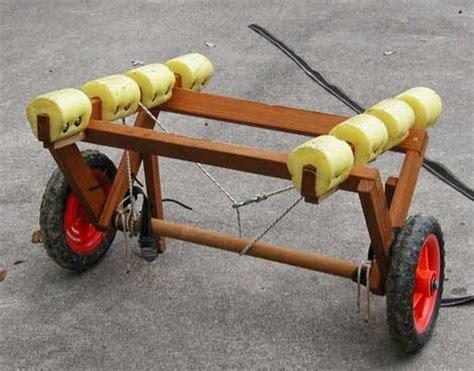 topic canoe cart plans sailing build plan