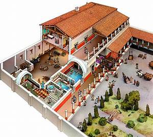 Ancient Roman Villa Ancient Roman Villas Diagram  Roman