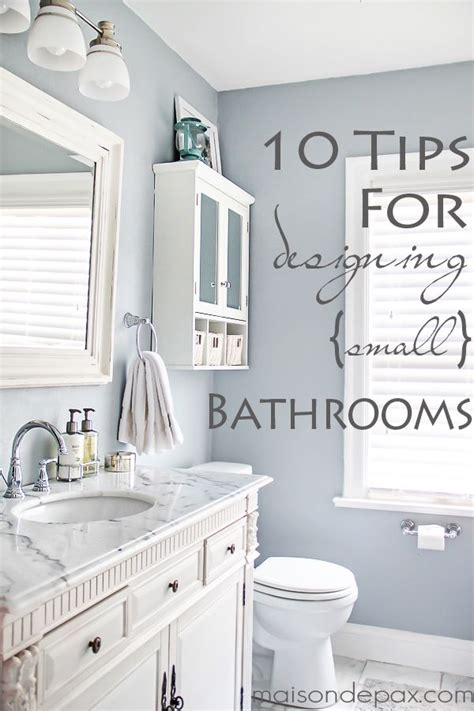 Small Bathroom Colors And Designs by 10 Tips For Designing A Small Bathroom Diy Home Decor