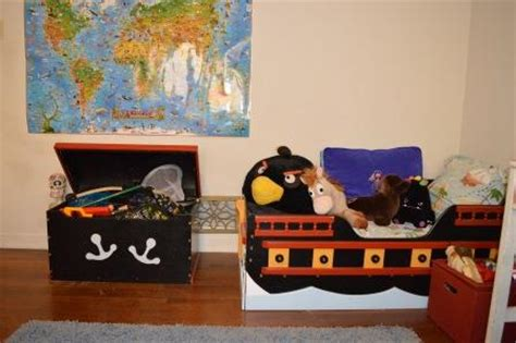 Pirate Ship Interior Design For 6 Year Boy by A Bedroom Makeover For A 6 Year Boy Invites Play In
