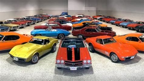 Rm To Auction Huge Collection Of Muscle Cars In Southern