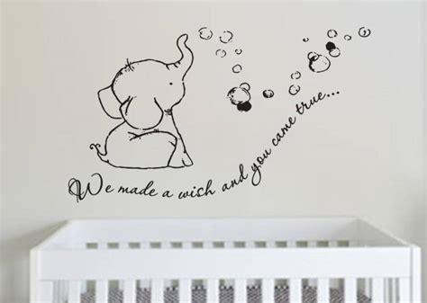 Elephant Baby Room Wall Decor  Ellzabelle Nursery Ideas