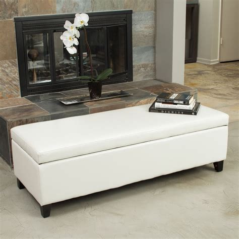 living room with ottoman living room ivory leather storage ottoman bench ebay