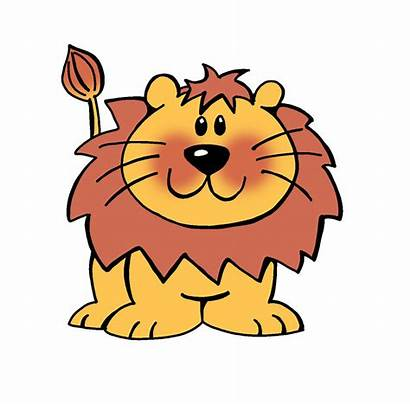 Lion Cartoon Cliparts Clipart Attribution Forget Link