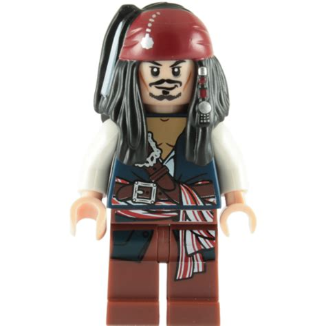 black belt bracket with white buy lego captain sparrow minifigure the daily brick