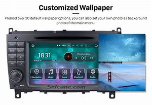 7 Inch Android 7 1 Car Dvd Player For Mercedes