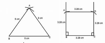 Triangle Equilateral Draw Sides Square Drawn Class