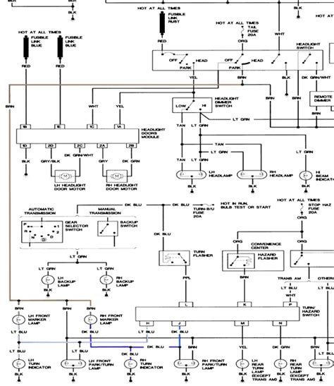 how do you trace an electrical in a 1988 pontiac