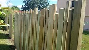 Cloture Bois Design : palissade bois ajour recherche google d co pinterest ~ Melissatoandfro.com Idées de Décoration