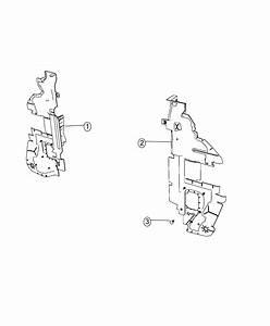 Dodge Journey Seal  Shield  Radiator Side Air  Side