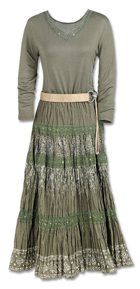 olive broom skirt dresses skirts fashion