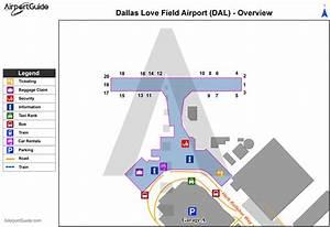 Map Of Dallas Love Field Airport