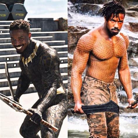 erik killmonger  super heroes marvel black