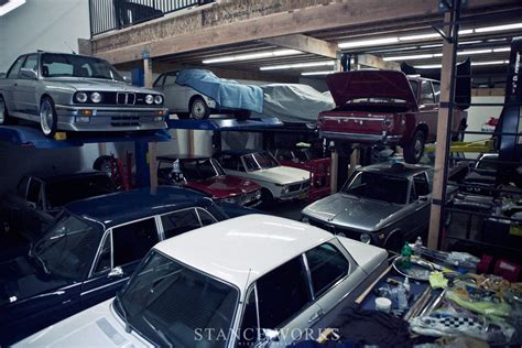 Bmw Garage by Quot The Collector Quot Bmw History Preserved Stanceworks