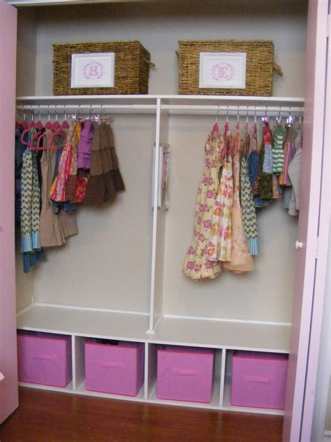 Shared Closet Organization Ideas by An Organized And Girly Closet For Two The Complete