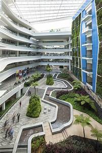 internal courtyard / Institute of Technical Education ...