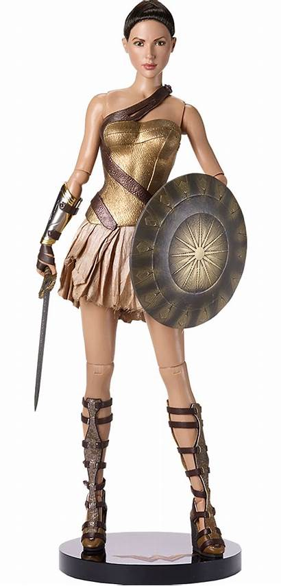 Wonder Armor Woman Doll Training Deluxe Dc