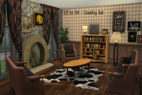 country living set  chillis sims sims  updates