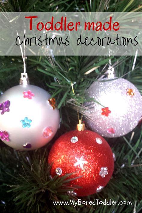 days  homemade kid ornaments  resourceful mama