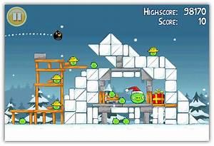 Angry birds seasons christmas edition for iphone and ipad for Angry birds seasons iphone ipad christmas edition