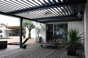 Pergola Murale Alu : pergola aluminium un produit tendance pour un espace ~ Edinachiropracticcenter.com Idées de Décoration
