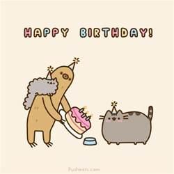 pusheen cat birthday cat drawing happy birthday kawaii pusheen pusheen the