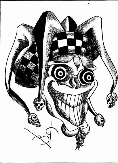 Jester Evil Wicked Pink12 Drawings Drawing Deviantart