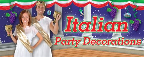 Italian Decorations For Home: Italian Party Decorations And Party Supplies