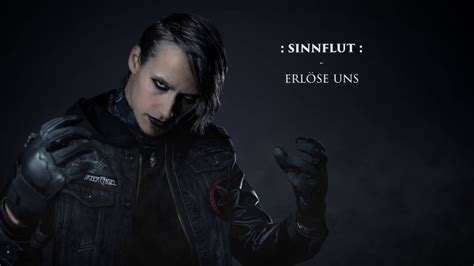 schwarzer engel sinnflut official lyric video youtube