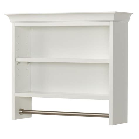 bathroom wall cabinet with shelf home decorators collection creeley 7 1 20 in l 20 1 2 in