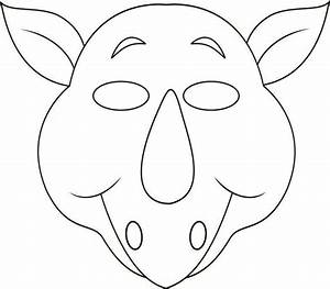 best photos of printable animal mask templates printable With jungle animal mask templates