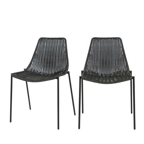 chaises tress es lot de 2 chaises tressées morris par drawer fr