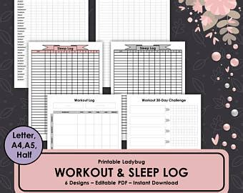 weekly health tracker printable food tracker weight etsy