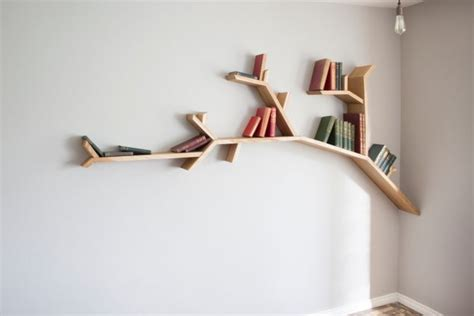 unique cool corner designs cool and modern tree shaped bookshelves you must see today