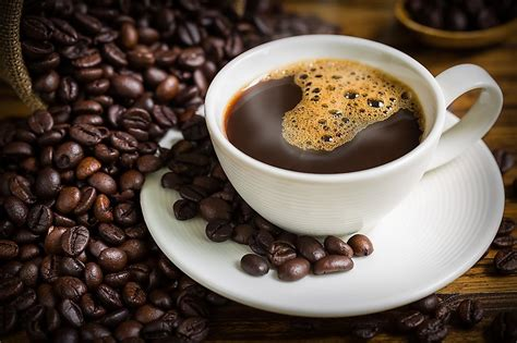 top  coffee consuming nations worldatlascom