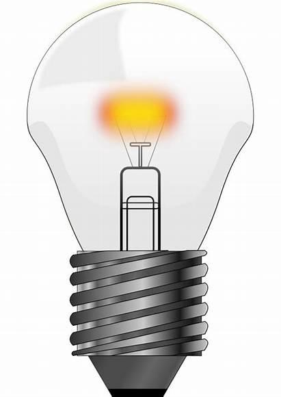 Clipart Bulb Clip Lightbulb Ampoule Lights Bulbs