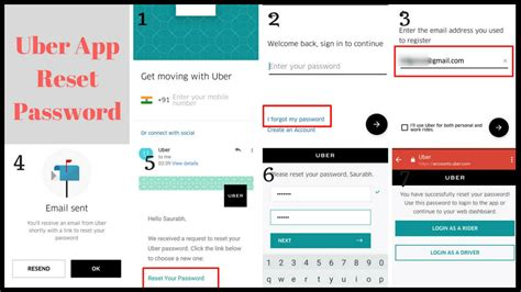 login account mobile number reset forgot lost uber password how to recover account