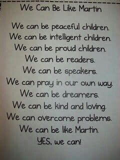poem  martin luther king jr martin luther king