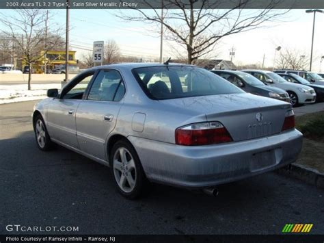 2003 acura tl 3 2 type s in satin silver metallic photo no