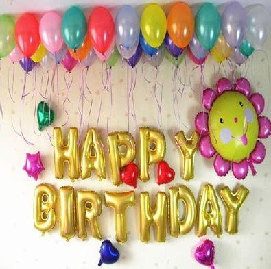 Organic balloons adds a more customised and free flowing balloon effect for your event. Balloon Decoration At Home | Birthday organizer | Theme Party Planner: Balloon Decoration Ideas ...