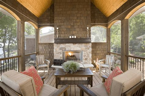 How Much Does It Cost To Have Screened In Porch With Fireplace?