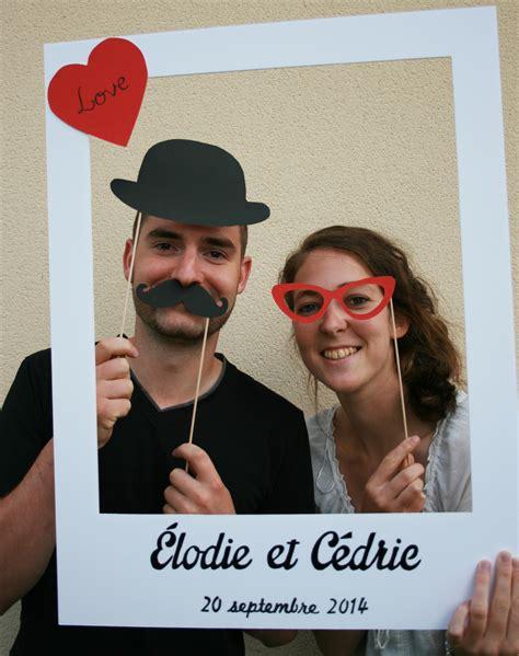 photobooth cadre polaro 239 d pour mariage et 3 accessoires polaro 239 d et mariage