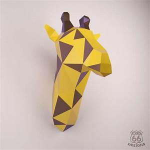 Printable Giraffe Papercraft Printable Papercrafts