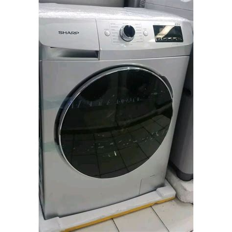 Check spelling or type a new query. Mesin Cuci Sharp ES-FL 1073 W Front Loading 7 KG 1000 RPM ...