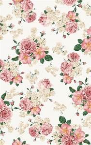 Floral iPhone wallpaper | Vintage | Pinterest | Flower ...