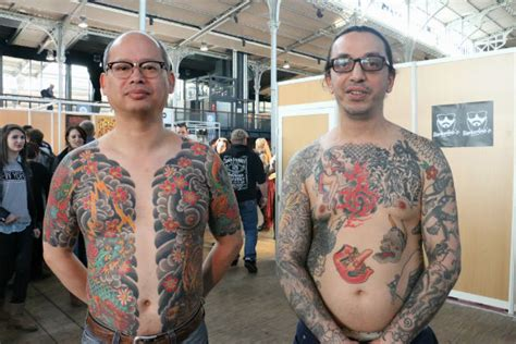 tatouage japonais france modeles  exemples
