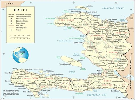 Haiti Carte Du Monde by Ha 239 Ti Ha 239 Ti