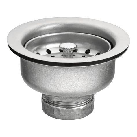 Moen Basket Strainer In Stainless Steel22037  The Home Depot