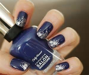 Best blue and silver nail art design ideas