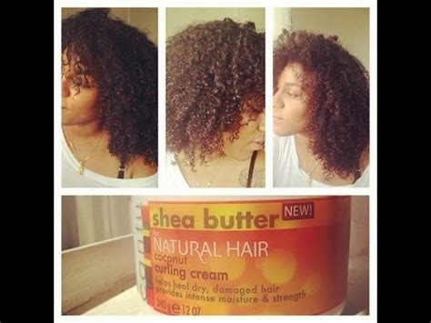 Wash N Go Using Cantu Coconut Curling Cream   YouTube